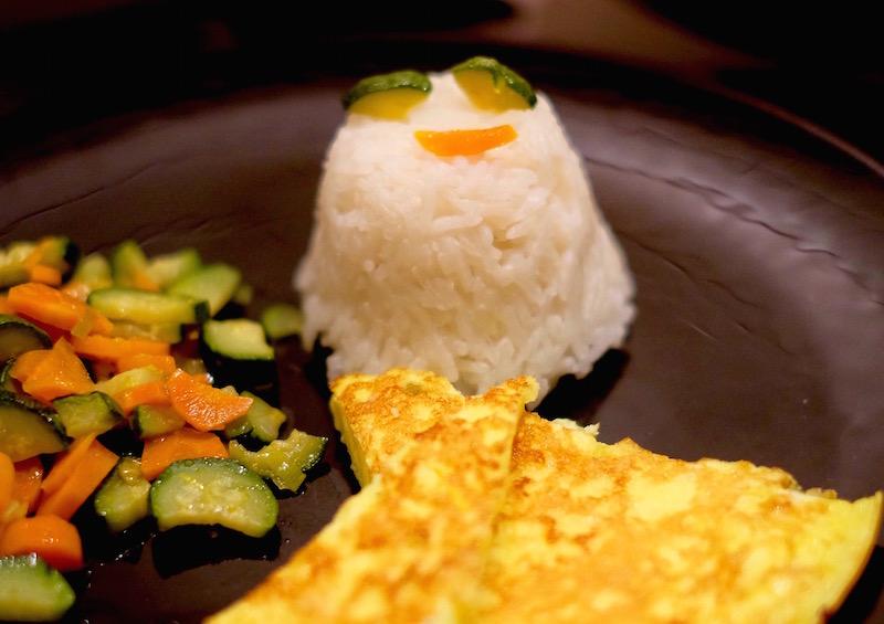 Fantasmino di riso basmati