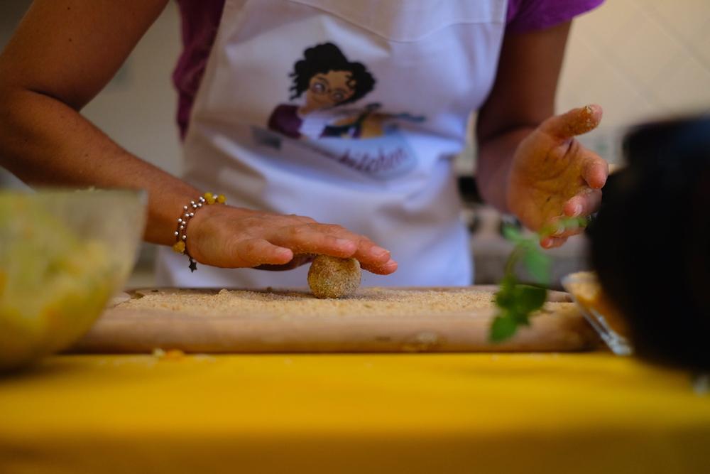 Preparazione Polpette Quinoa