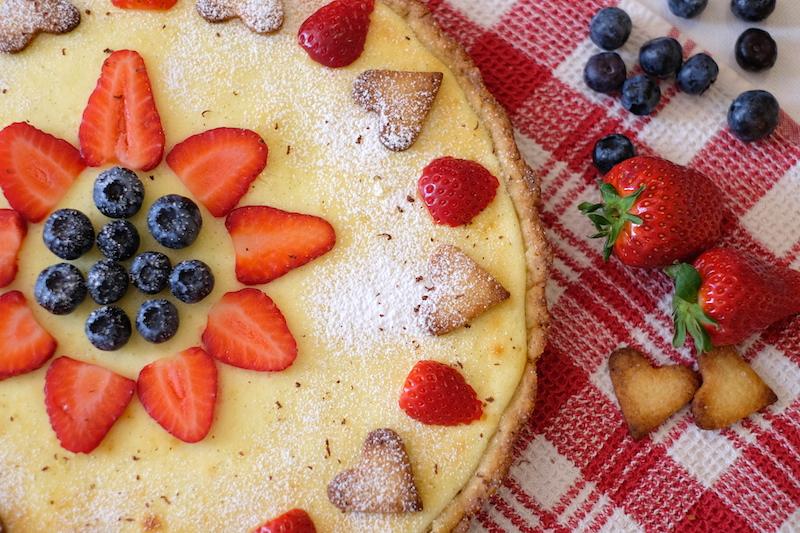 Crostata di farro e olio d'oliva: ricette sane per bambini