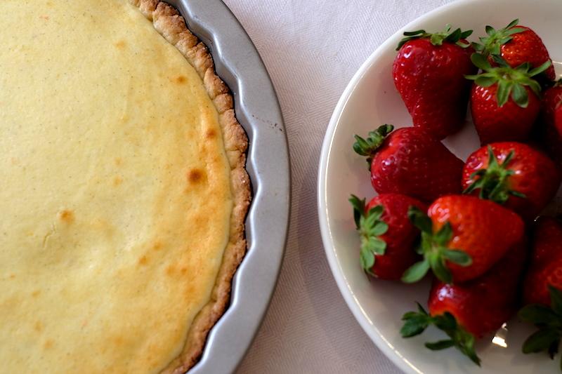 Crostata e fragole: ricette sane per bambini