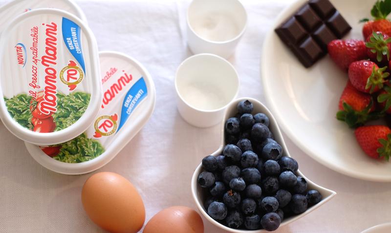 Ingredienti crostata di farro