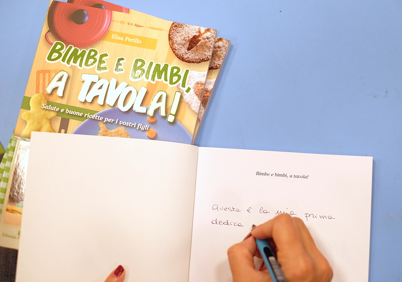 Dedica Libro ricette per bambini