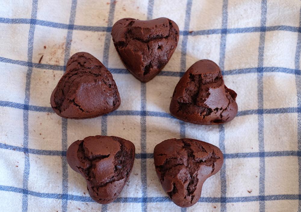 Muffin al cacao senza burro