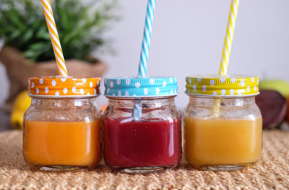 stratti di succo per bambini
