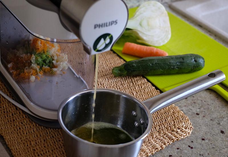 Estrattore verdure brodo