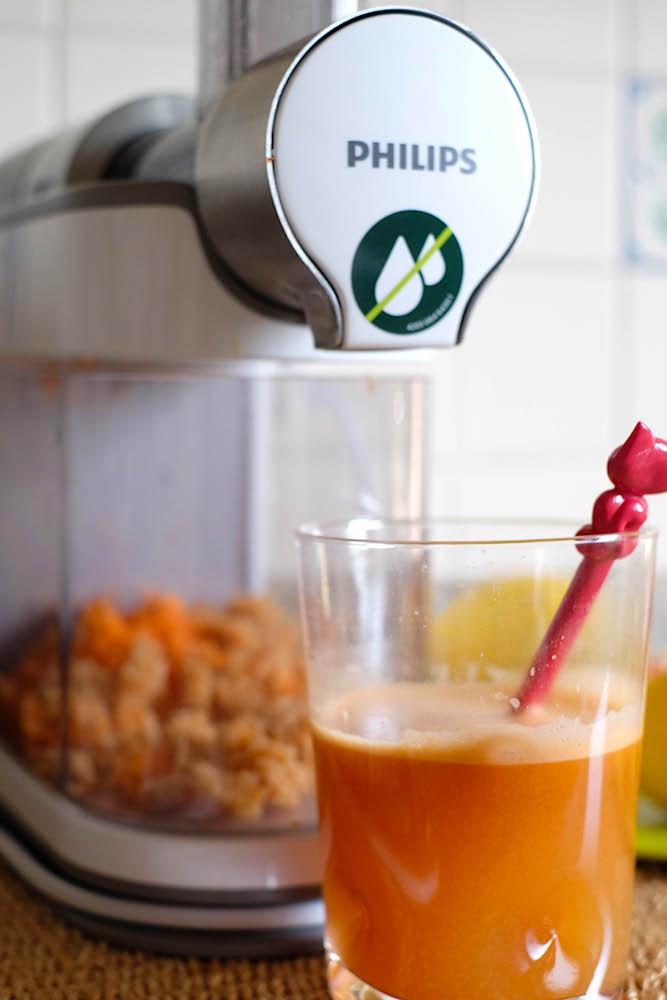 Succo carota e mela