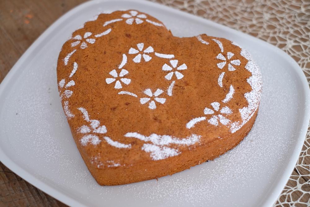 Ricetta torta con scarti estrattore
