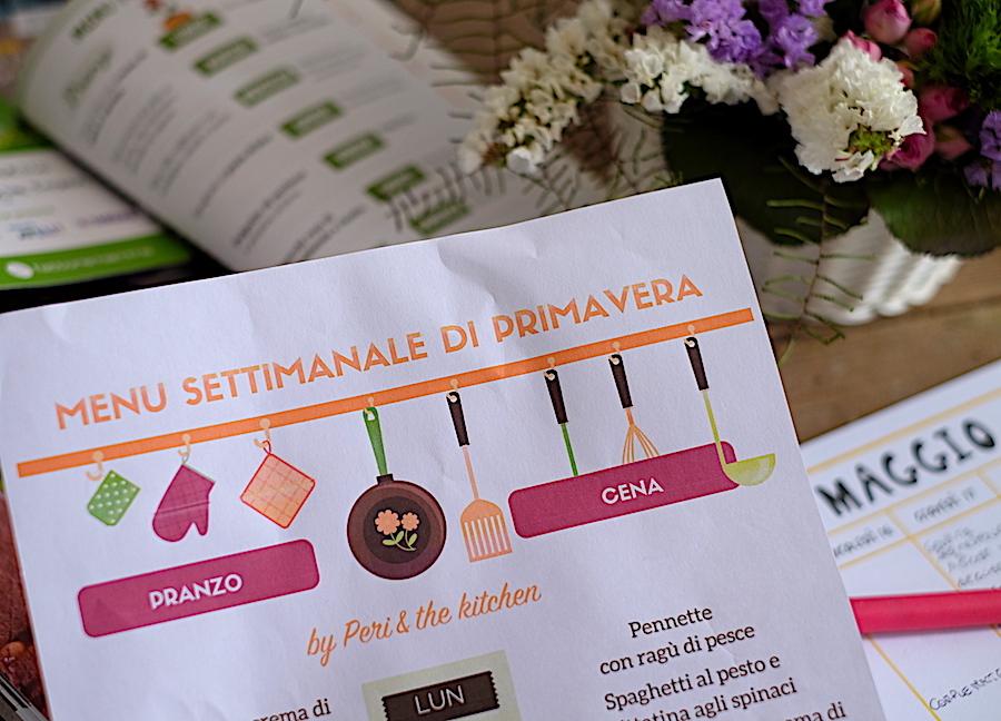 Dieta Settimanale Equilibrata : Menu settimanale archivi peri the kitchen