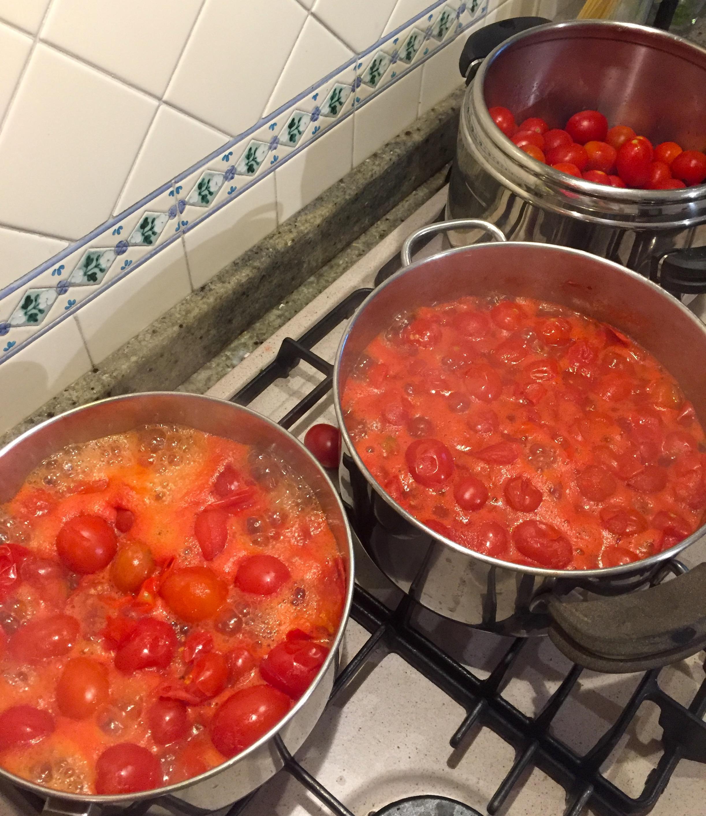 Cottura pomodori