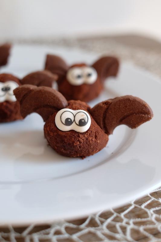 Pipistrelli dolcetti facili halloween