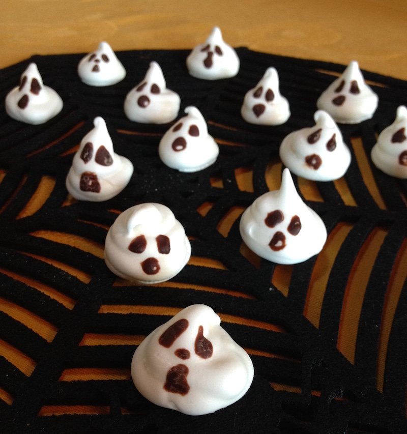 Ricette halloween fantasmini
