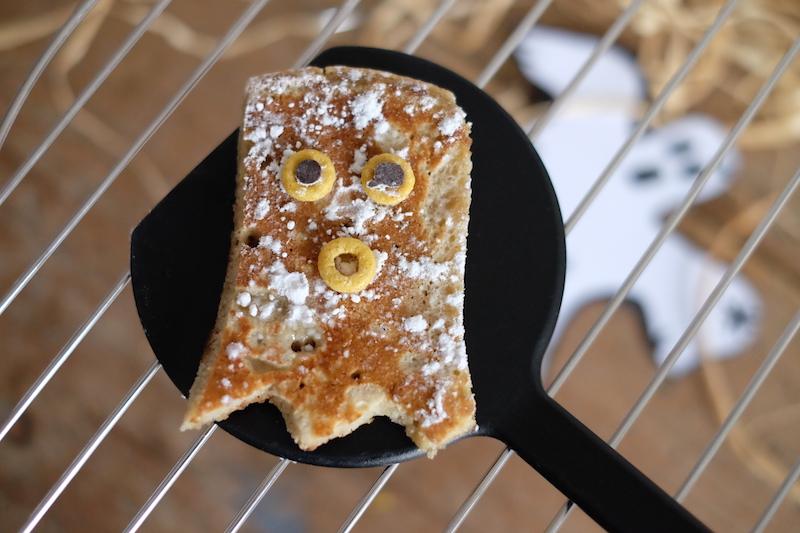 ricette halloween pancake fantasma