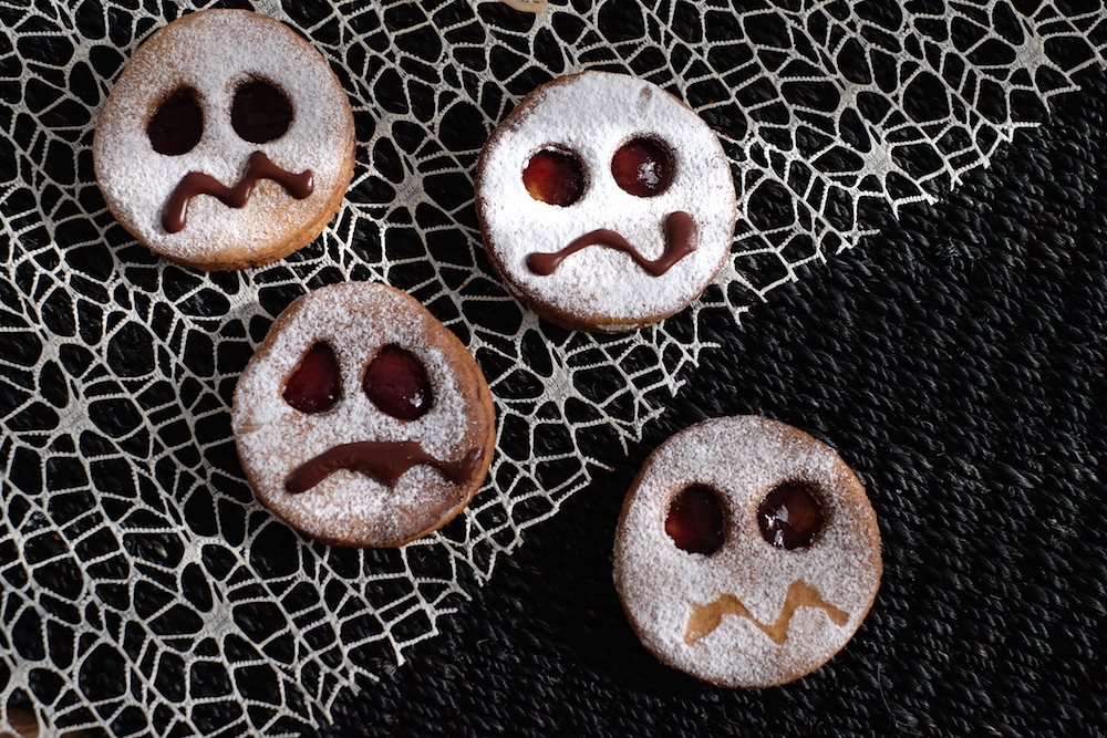 ricette halloween biscotti fantasma