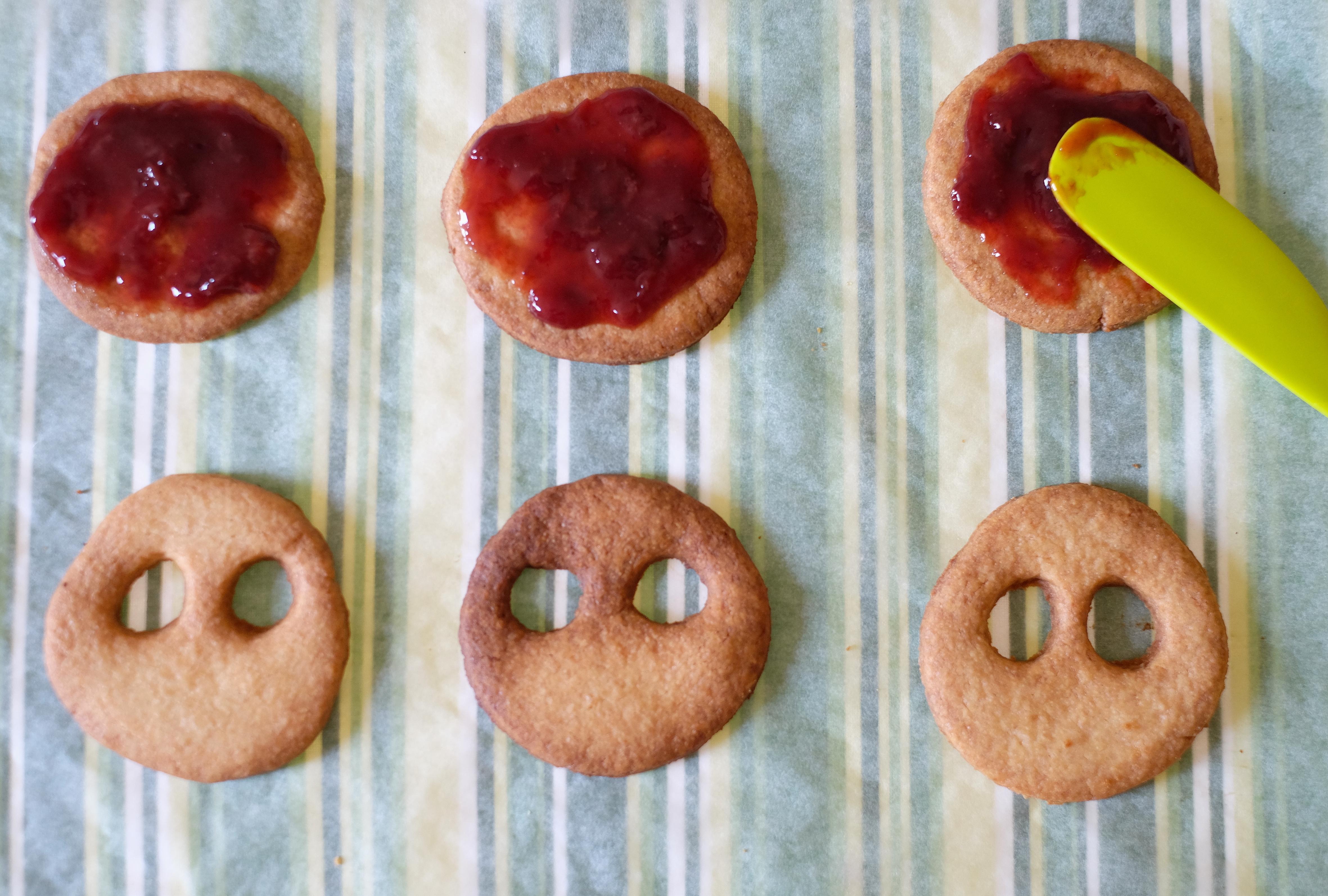 ricette halloween biscotti
