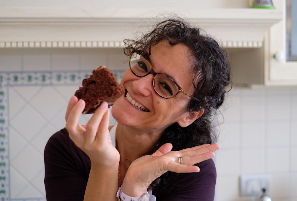 Assaggio torta al cioccolato