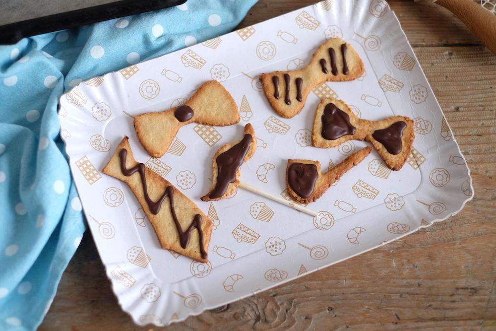 Biscotti frolla festa del papà