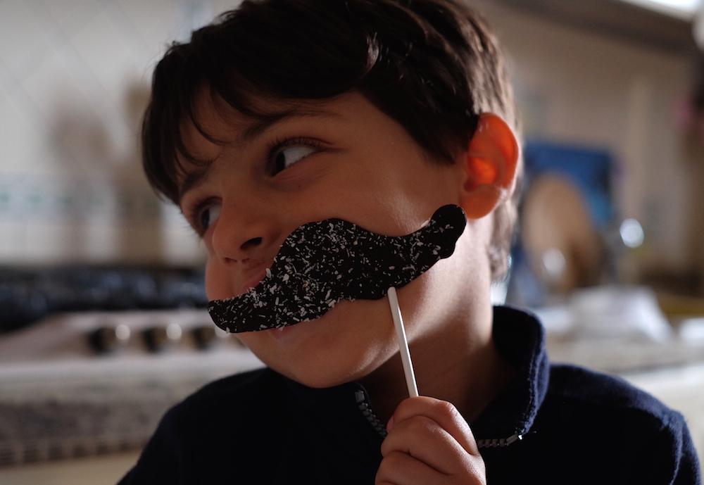 Matteo baffi festa del papà