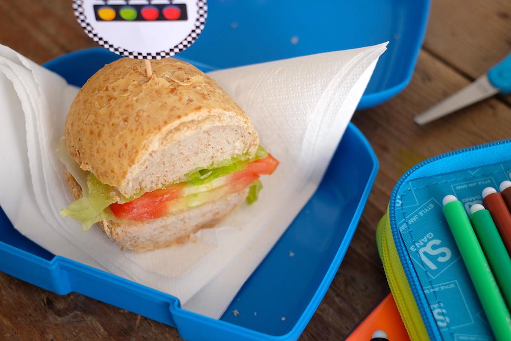 Merenda sana scuola panino