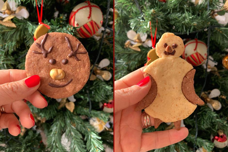 Biscotti di Natale vegani facili