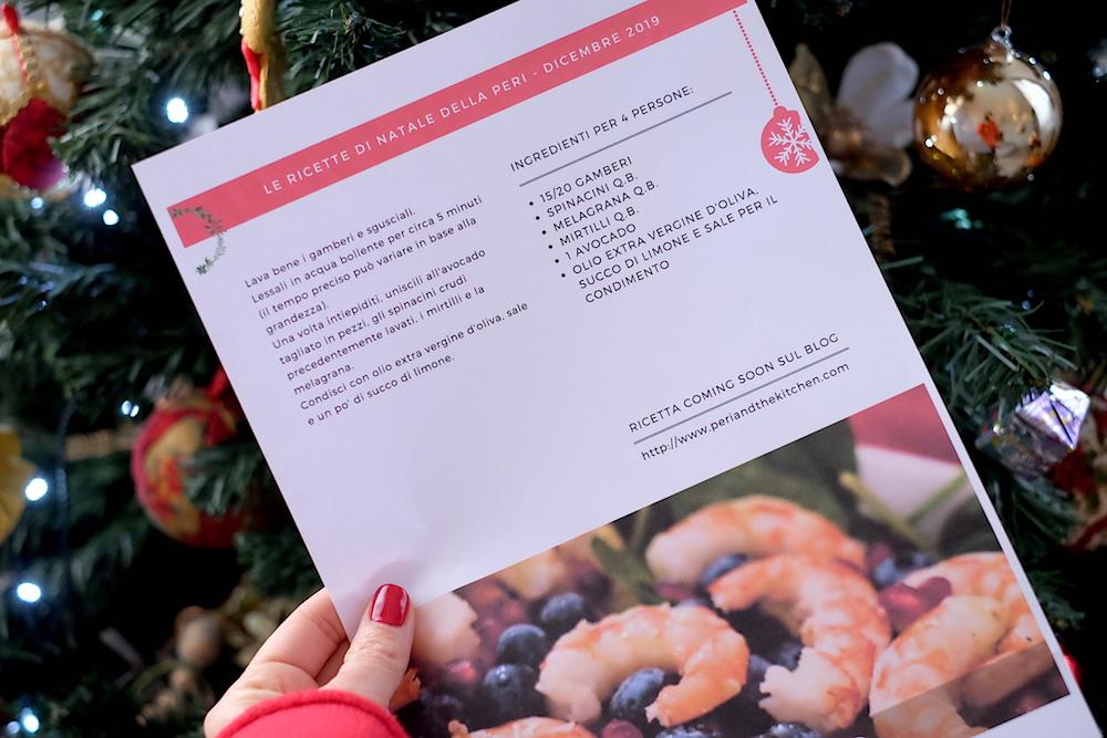 Scheda ricette di Natale