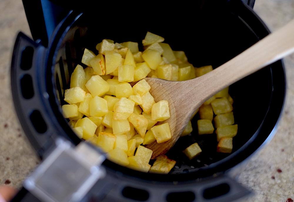 patatine fritte ad aria