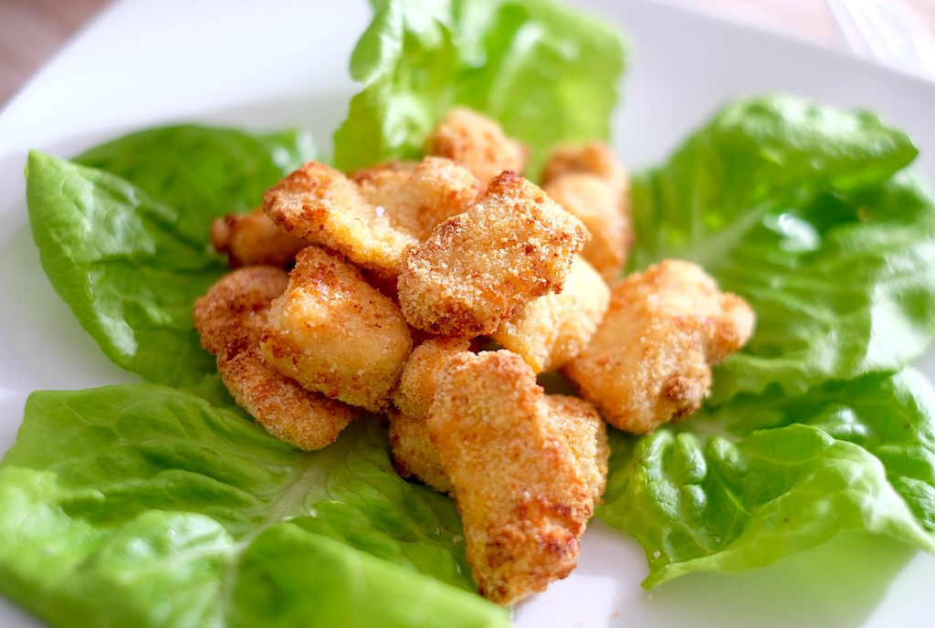 ricette friggitrice aria bocconcini pollo
