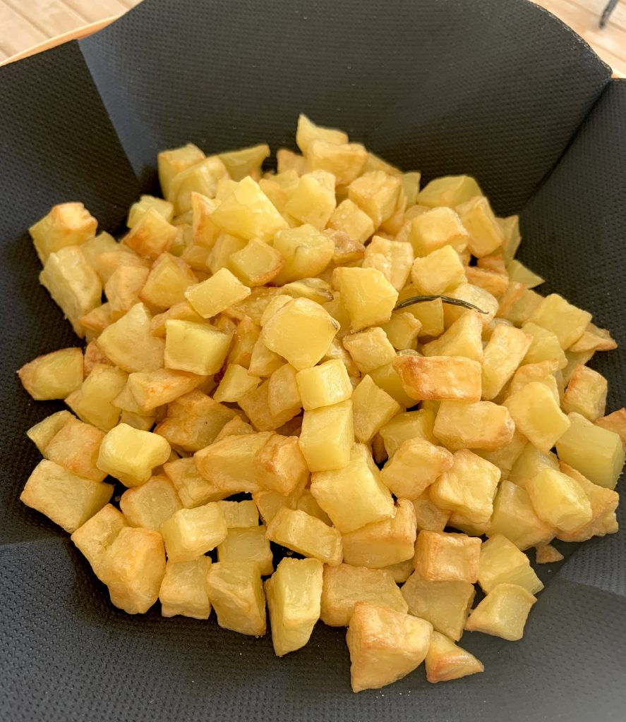 ricetta patatine friggitrice ad aria
