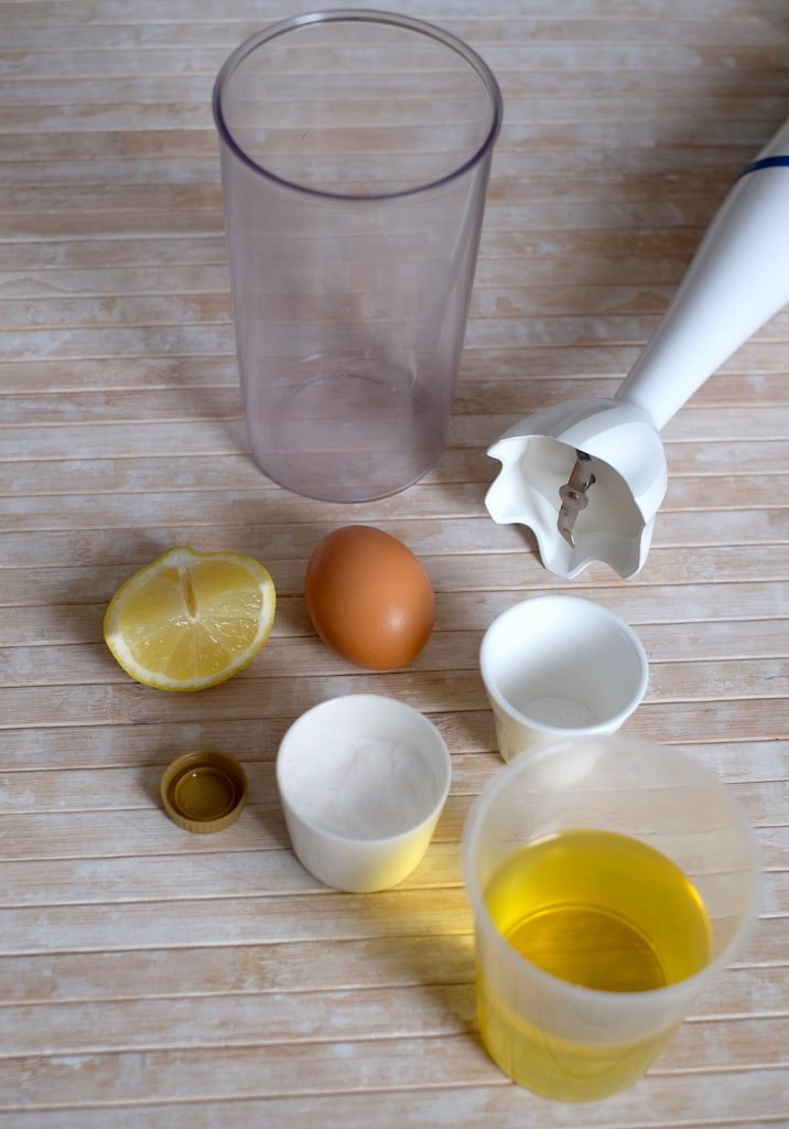 Ingredienti ricetta maionese fatta in casa