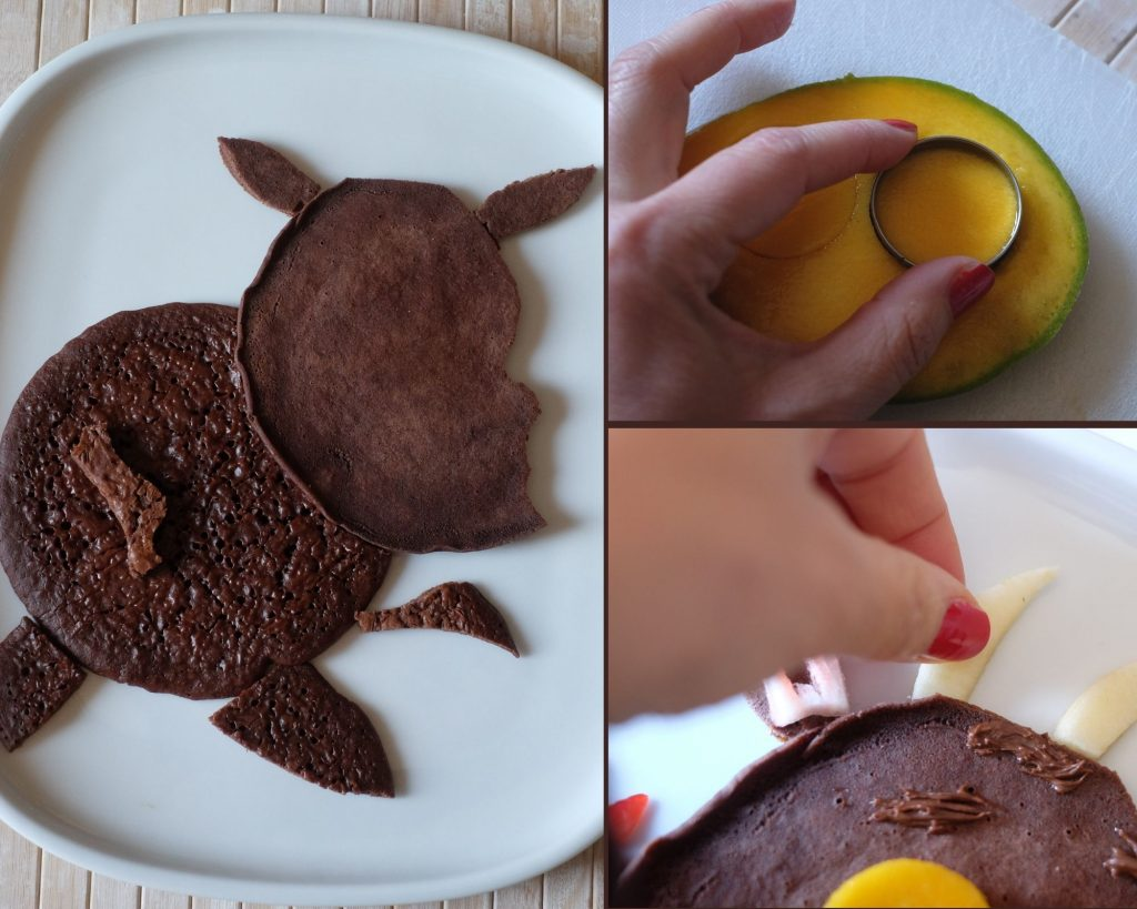 Decorazione pancake Gruffalo