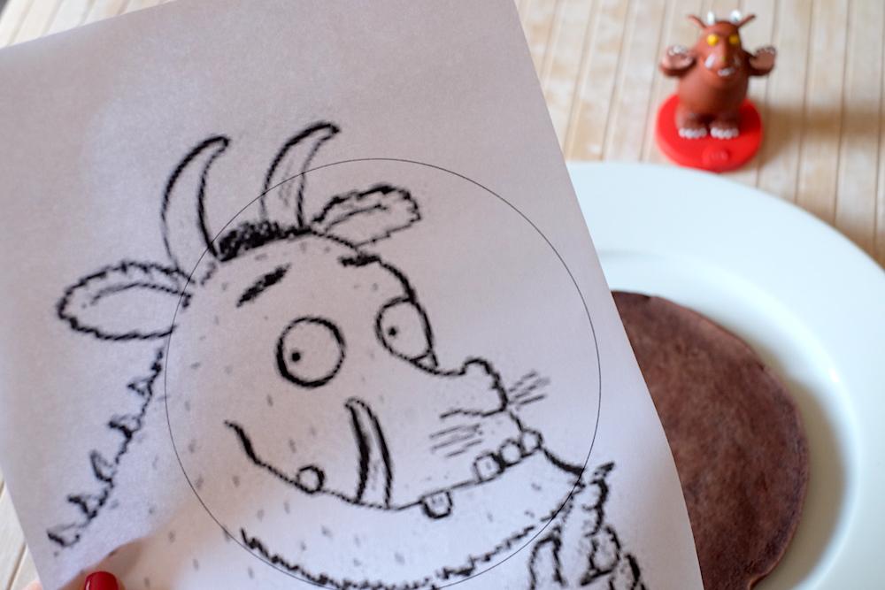 Disegno Gruffalo da stampare