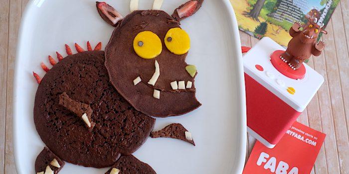 Ricetta Pancake al cacao Gruffalo