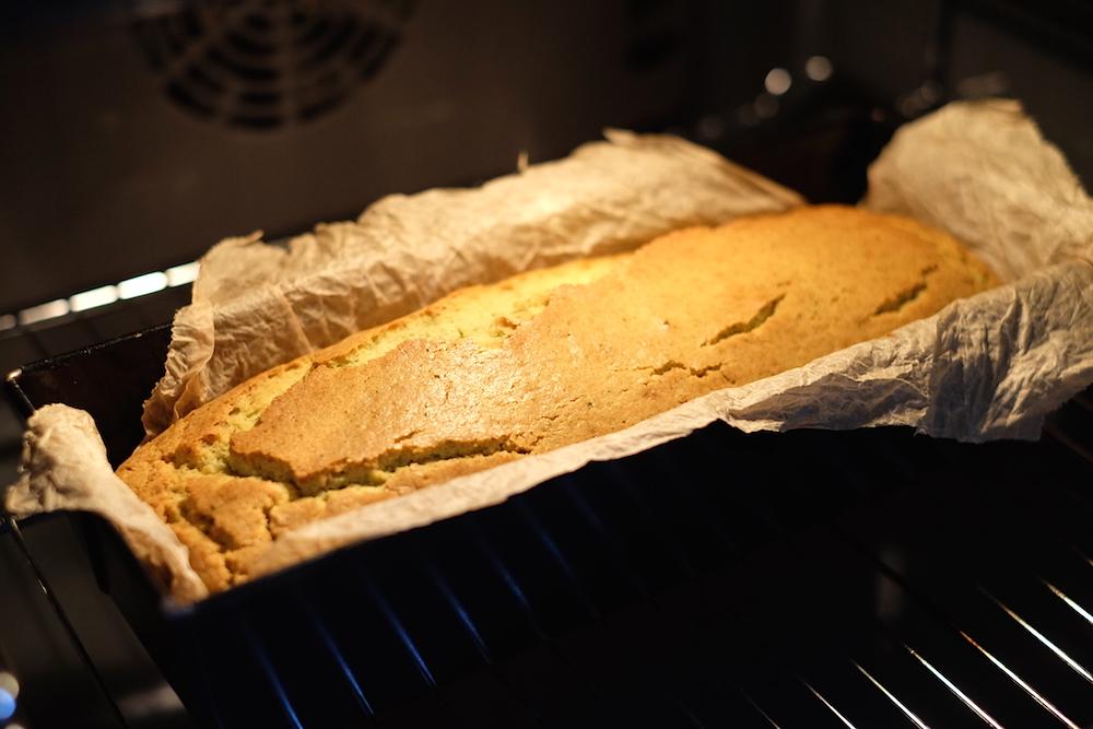 Cottura plumcake alle zucchine